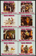 """Movie Posters:Elvis Presley, Easy Come, Easy Go (Paramount, 1967). Lobby Card Set of 8 (11"""" X 14"""")..... (Total: 8)"""