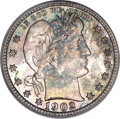Barber Quarters, 1902-S 25C MS67 PCGS. CAC....