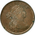 Large Cents, 1797 1C Reverse of 1797, Stems MS65 Brown PCGS....