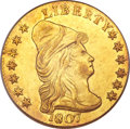 Early Quarter Eagles, 1807 $2 1/2 MS61 PCGS....