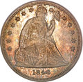 Seated Dollars, 1846-O $1 MS63 PCGS. CAC....
