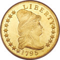 Early Eagles, 1795 $10 13 Leaves MS62 PCGS....