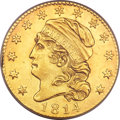 Early Half Eagles, 1814/3 $5 MS61 PCGS....