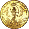 German States:Hamburg, German States: Hamburg. 1/2 Portugaloser of gold 5 Ducats 1679,...