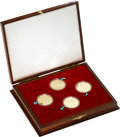 China:People's Republic of China, China: People's Republic four-piece gold Medallic Set 1979,... (Total: 4 coins)