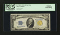 Small Size:World War II Emergency Notes, Fr. 2309* $10 1934A North Africa Silver Certificate. PCGS Choice New 63PPQ.. ...