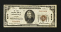 National Bank Notes:Arkansas, Lewisville, AR - $20 1929 Ty. 1 The First NB Ch. # 9354. ...