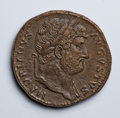Ancients:Roman Imperial, Ancients: Hadrian. A.D. 117-138. AE sestertius (32 mm, 24.56 g, 5 h)....