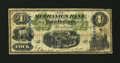Canadian Currency: , Montreal, PQ- The Mechanics Bank $4 June 1, 1872 Ch. # 430-10-04c....