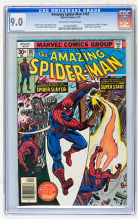The Amazing Spider-Man CGC-Graded Group (Marvel, 1975-83) Off-white to white pages.... (Total: 4 Comic Books)
