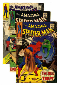 The Amazing Spider-Man Group (Marvel, 1967-71) Condition: Average FN/VF.... (Total: 7 Comic Books)
