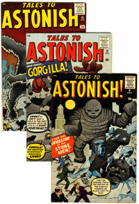 Tales to Astonish Apparent Group (Marvel, 1959-60).... (Total: 5 Comic Books)