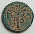 Ancients:Judaea, Ancients: Judaea. Bar Kochba Revolt. 132-135 C.E. AE 26 mm (11.28g, 6 h). Undated, year 3 (134/5 C.E.)....