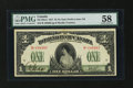 Canadian Currency: , DC-23a-ii $1 1917. ...