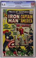 Silver Age (1956-1969):Superhero, Tales of Suspense #60 (Marvel, 1964) CGC NM 9.4 Off-white to whitepages....