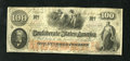 Confederate Notes:1862 Issues, T41 $100 1862. The details and colors are exceptionally bright forthe grade. Very Fine....