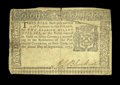 Colonial Notes:New York, New York September 2, 1775 $2 Very Fine....