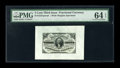 Fractional Currency:Third Issue, Fr. 1227SP 3¢ Third Issue Wide Margin Pair PMG Choice Uncirculated 64 EPQ.... (Total: 2 items)