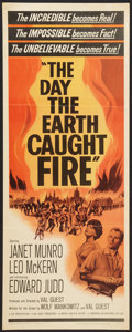 "Movie Posters:Science Fiction, The Day the Earth Caught Fire (Universal International, 1962).Insert (14"" X 36""). Science Fiction.. ..."