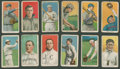 Baseball Cards:Lots, 1909-11 T206 White Border Baseball Collection (12). ...