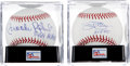 Autographs:Baseballs, Jim Palmer and Brooks Robinson PSA Graded Gem Mint 10 Single SignedBaseballs Lot of 2.... (Total: 2 items)