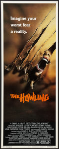 "Movie Posters:Horror, The Howling (Avco Embassy, 1981). Insert (14"" X 36""). Horror.. ..."