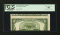 Error Notes:Skewed Reverse Printing, Fr. 1962-G $5 1950A Federal Reserve Note. PCGS Choice About New58.. ...