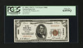 National Bank Notes:Kentucky, Wilmore, KY - $5 1929 Ty. 1 The First NB Ch. # 9880. ...
