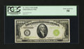 Fr. 2221-E $5000 1934 Light Green Seal Federal Reserve Note. PCGS Choice About New 58