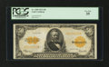 Large Size:Gold Certificates, Fr. 1200 $50 1922 Gold Certificate PCGS Very Fine 35....
