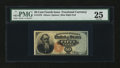 Fractional Currency:Fourth Issue, Fr. 1376 50c Fourth Issue Stanton PMG Very Fine 25....