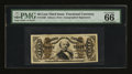 Fractional Currency:Third Issue, Fr. 1330 50¢ Third Issue Spinner PMG Gem Uncirculated 66 EPQ....