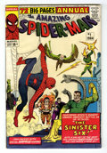 Silver Age (1956-1969):Superhero, The Amazing Spider-Man Annual #1 (Marvel, 1964) Condition: Apparent VG/FN....