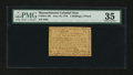 Colonial Notes:Massachusetts, Massachusetts June 18, 1776 2s/4d PMG Choice Very Fine 35....