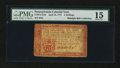 Colonial Notes:Pennsylvania, Pennsylvania April 10, 1777 2s Red and Black PMG Choice Fine 15....