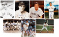 Autographs:Photos, Boston Red Sox Signed Photograph Lot of 13.... (Total: 12 card)