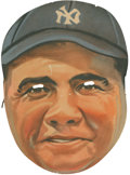 Baseball Collectibles:Others, Early 1930's Babe Ruth Feen-a-mint Mask....