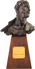 "Football Collectibles:Others, 1964 ""Grand Award of Sports"" Presented to Jim Brown...."