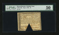 Colonial Notes:Massachusetts, Massachusetts May 5, 1780 $3 PMG About Uncirculated 50....