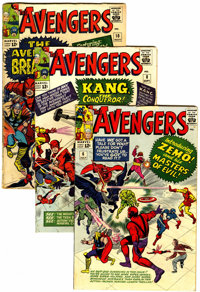 The Avengers Group (Marvel, 1964-70) Condition: Average GD/VG.... (Total: 18 )