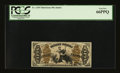 Fractional Currency:Third Issue, Fr. 1349 50¢ Third Issue Justice PCGS Gem New 66PPQ....