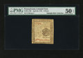 Colonial Notes:Pennsylvania, Pennsylvania April 25, 1776 6d PMG About Uncirculated 50 EPQ....