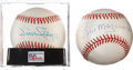 Autographs:Baseballs, Bill Mazeroski and Willie Stargell Single Signed Baseballs Lot of2.... (Total: 2 items)