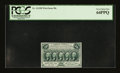 Fractional Currency:First Issue, Fr. 1313SP 50¢ First Issue Narrow Margin Face PCGS Very Choice New 64PPQ....