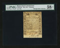 Colonial Notes:Rhode Island, Rhode Island May 1786 6s PMG Choice About Unc 58 EPQ....