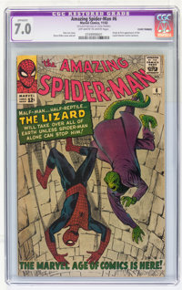 The Amazing Spider-Man #6 (Marvel, 1963) CGC Apparent FN/VF 7.0 Off-white to white pages