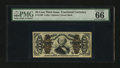 Fractional Currency:Third Issue, Fr. 1339 50¢ Third Issue Spinner Type II PMG Gem Uncirculated 66 EPQ....