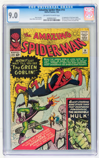 The Amazing Spider-Man #14 (Marvel, 1964) CGC VF/NM 9.0 Off-white to white pages