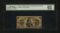 Fractional Currency:Third Issue, Fr. 1299 25¢ Third Issue PMG Uncirculated 62....