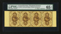 Fractional Currency:First Issue, Fr. 1229 5¢ First Issue PMG Gem Uncirculated 65 EPQ....
